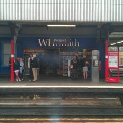 Photo taken at Stockport Railway Station (SPT) by Wayne H. on 6/27/2012
