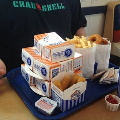 Photo taken at White Castle by Denise D. on 7/22/2012