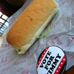 Photo taken at Jimmy John's by Marie S. on 9/6/2012