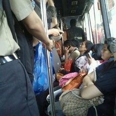 Photo taken at Transjakarta koridor 3 by Denny H. on 5/30/2012
