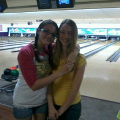 Photo taken at Royal Lanes Bowling Alley by Julia E. on 6/23/2012