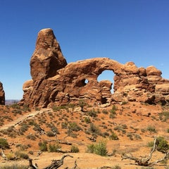 Photo taken at Arches National Park by Bartek J. on 6/10/2012
