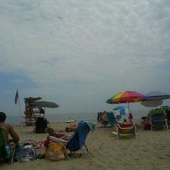 Photo taken at Belmar Beach by Amy P. on 6/10/2012