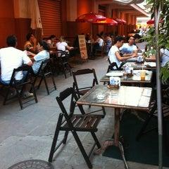 Photo taken at Espaço Café Central by Raphaela M. on 2/8/2012