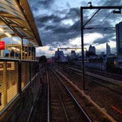 Photo taken at Shadwell DLR Station by Jiri K. on 8/2/2012