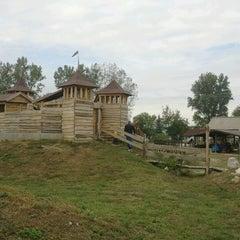 Photo taken at Piliscsévi Játékpark by Marlok N. on 9/23/2012