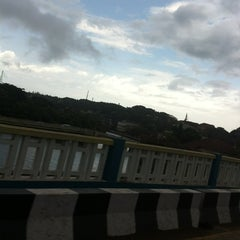 Photo taken at Mandovi Bridge by Abdul S. on 5/28/2013