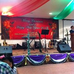 Photo taken at BEM (SIB)  Emmanuel Kota Padawan by Sharon C. on 12/25/2012