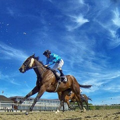Photo taken at Lingfield Park Racecourse by Lingfield Park Racecourse on 3/5/2014