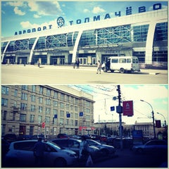 Photo taken at Международный аэропорт Толмачёво / Tolmachevo International Airport (OVB) by Victoria 🌟 on 7/11/2013