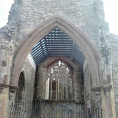 Photo taken at Holyrood Church (remains Of) by Beangirl on 10/17/2012