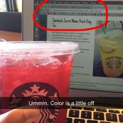 Photo taken at Starbucks by Tera D. on 4/18/2015