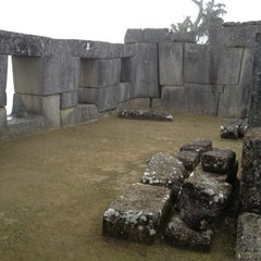 Photo taken at Templo de las Tres Ventanas by Paulo G. on 6/1/2013