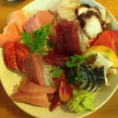 Photo taken at Toyoda Sushi by Bee L. on 4/14/2014
