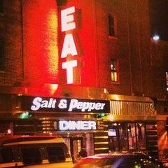 Photo taken at Salt & Pepper Diner by Emily M. on 3/9/2013