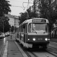 Photo taken at Ortenovo náměstí (tram) by Martin K. on 11/2/2012