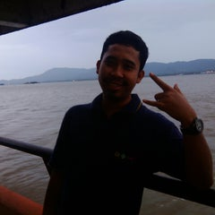 Photo taken at Pelabuhan Ferry Tarjun by IRSYAD W. on 4/7/2014