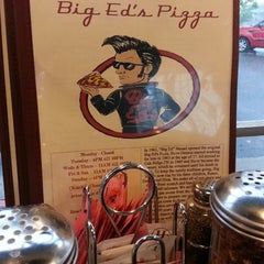 Photo taken at Big Ed's Pizza by Arthur O. on 5/28/2014