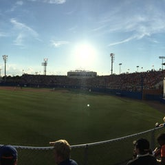 Photo taken at McKethan Stadium at Perry Field by Hyun Ji S. on 6/6/2015