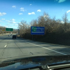 Photo taken at Delaware / Pennsylvania State Line by BAH on 1/31/2013