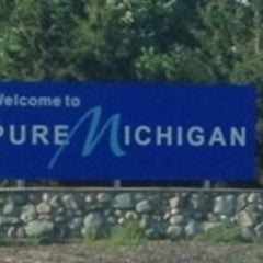 Photo taken at Michigan / Ohio State Line by Mary M. on 7/22/2012