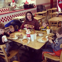 Photo taken at Five Guys by Robert M. on 2/12/2014