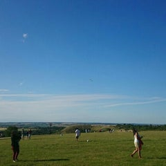 Photo taken at Dunstable Downs by İrem B. on 7/19/2015
