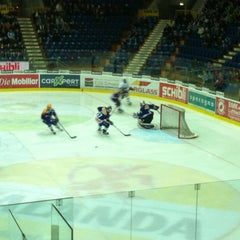 Photo taken at Swiss Arena by Raphael F. on 1/2/2013