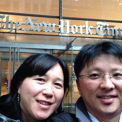 Photo taken at New York Times Building by Jorge A. on 6/2/2015