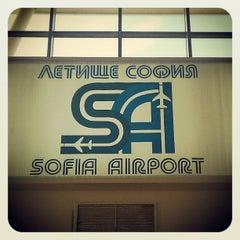 Photo taken at Sofia International Airport (SOF) by Tsvetan T. on 11/3/2012
