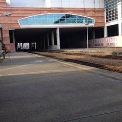 Photo taken at Estação Ferroviária de Viana do Castelo by Diana R. on 12/31/2014