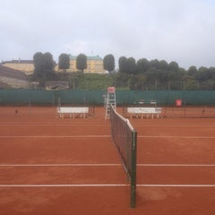 Photo taken at KB Tennis by Natasha Friis S. on 9/21/2014