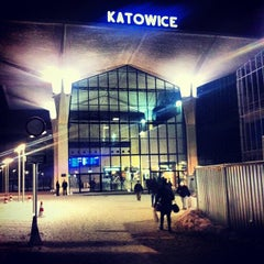 Photo taken at Katowice by Jaroslaw M. on 1/23/2013