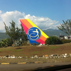Photo taken at Norman Manley International Airport (KIN) by Tamar F. on 7/19/2013