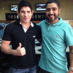 Photo taken at Rede de Rádio e Televisão Tiradentes by Rodrigo M. on 5/14/2015