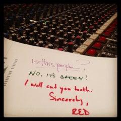 Photo taken at Henson Recording Studios by Kristin J. on 5/30/2014