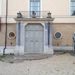 Photo taken at Museo Carlo Bilotti - Aranciera di Villa Borghese by Rabbit W. on 5/9/2013