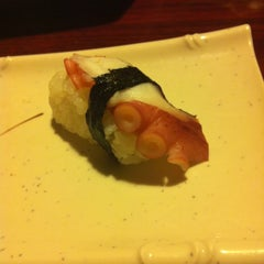 Photo taken at Sushi Rock by Angie K. on 12/31/2012