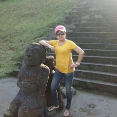 Photo taken at Candi Cetho by Indah W. on 10/18/2015