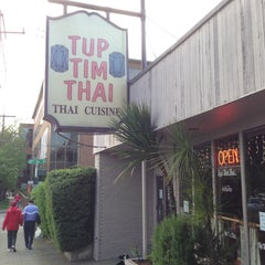 Photo taken at Tup Tim Thai by Kenneth L. on 5/15/2013