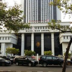 Photo taken at Mahkamah Agung Republik Indonesia by Julien L. on 8/17/2015