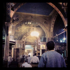 Photo taken at St. Mark's Church | كنيسة مارمرقس by Youssef H. on 3/21/2013
