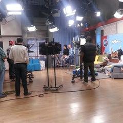 Photo taken at Ocho TV by Karla Bravo M. on 9/26/2014