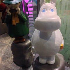 Photo taken at Moomin Shop by Dave S. on 12/9/2014
