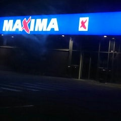 Photo taken at Maxima by Andris F. on 9/25/2015