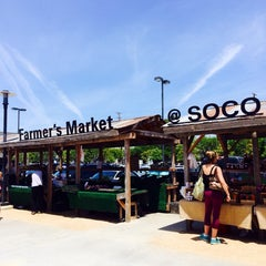 Photo taken at SoCo Farmers Market by Shannon on 6/21/2014