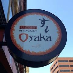 Photo taken at Osaka Japanese Restaurant by Kurt M. on 4/5/2013