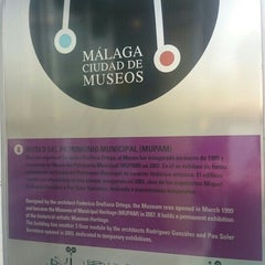 Photo taken at Museo del Patrimonio Municipal by Pedro B. on 7/10/2015