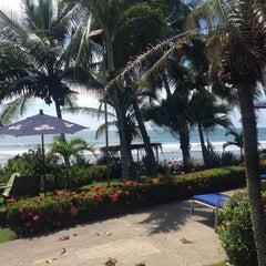 Photo taken at The Backyard Hotel Pool by Marí Jo on 11/2/2015