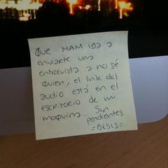 Photo taken at Sexenio HQ by Daniel S. on 10/15/2012